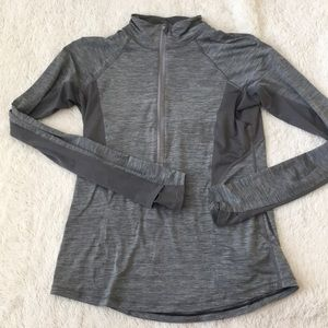 Athleta Gray Lightweight Pullover
